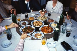 Referrals Within Your Firm PHOTO, Lazy Susan at Restaurant