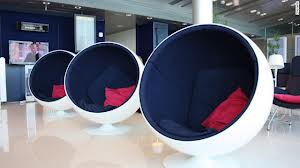 Holiday ChoicesPHOTO Emply Egg Type Chairs in lounge